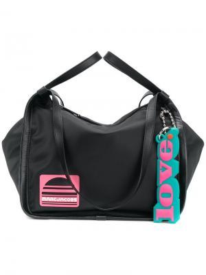 Спортивная сумка-тоут Marc Jacobs. Цвет: черный