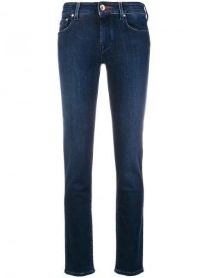 Low-rise skinny jeans Jacob Cohen. Цвет: синий