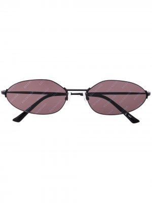 Солнцезащитные очки Invisible Cat Balenciaga Eyewear. Цвет: черный
