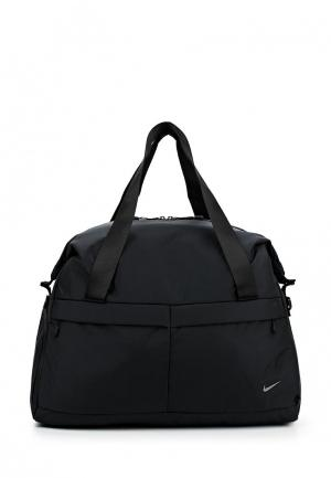 Сумка спортивная Nike. Цвет: черный