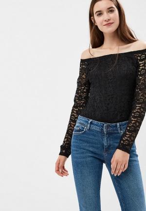 Блуза Madison Harmonie. Цвет: черный