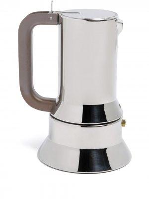 Кофеварка Espresso Alessi. Цвет: серебристый