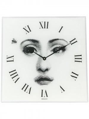 Квадратные настенные часы Fornasetti. Цвет: белый