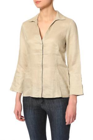 Блузка Pennyblack. Цвет: бежевый