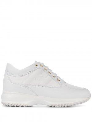 Высокие кроссовки Interactive Hogan. Цвет: белый