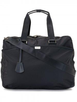 Дорожная сумка agnès b.. Цвет: синий