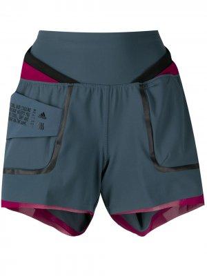 Спортивные шорты HEAT.RDY adidas. Цвет: синий