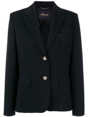 Two button blazer Les Copains. Цвет: черный