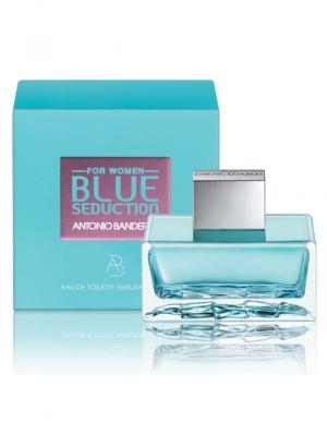 Туалетная вода Antonio Banderas Blue Seduction Woman 80 мл. Цвет: прозрачный