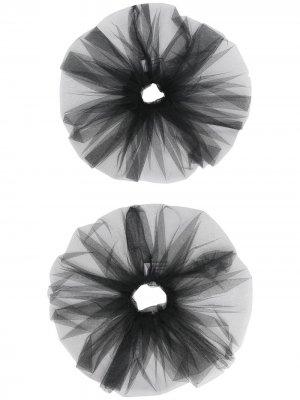 Резинка для волос Atu Body Couture. Цвет: черный