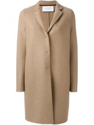 Классическое пальто Harris Wharf London. Цвет: нейтральные цвета