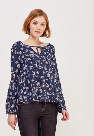 Блуза Roxy. Цвет: синий