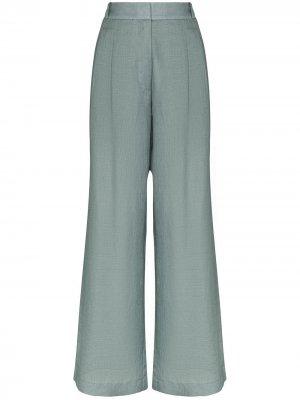Широкие брюки Rivello Asceno. Цвет: синий
