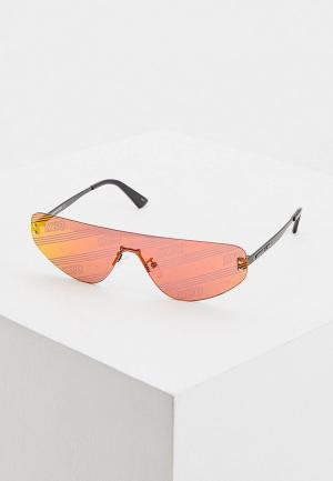 Очки солнцезащитные McQ Alexander McQueen. Цвет: красный