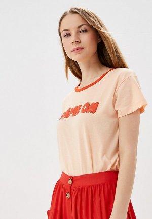 Футболка BlendShe. Цвет: оранжевый