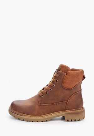 Ботинки Crosby. Цвет: коричневый
