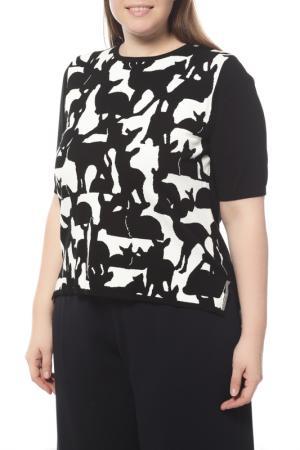 Пуловер MAXMARA. Цвет: черный