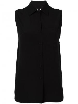 Рубашка с открытой спиной Jean Paul Gaultier Vintage. Цвет: черный