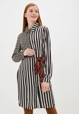 Платье Camomilla Italia. Цвет: разноцветный