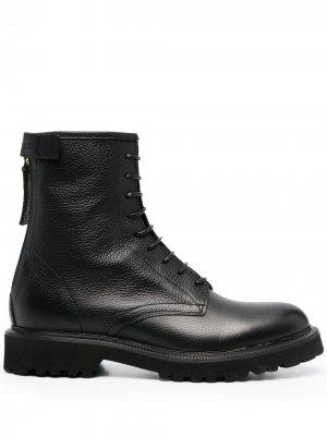 Ботинки в стиле милитари Woolrich. Цвет: черный
