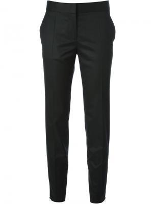 Прямые брюки Stella McCartney. Цвет: черный