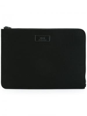 Чехол для ноутбука 13 Ami Alexandre Mattiussi. Цвет: черный