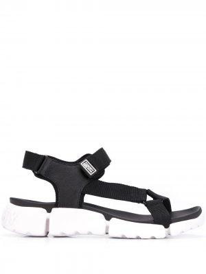 Сандалии с ремешками Tommy Jeans. Цвет: черный