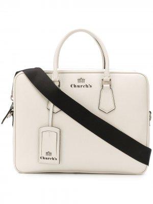 Churchs сумка для ноутбука Craven Church's. Цвет: белый