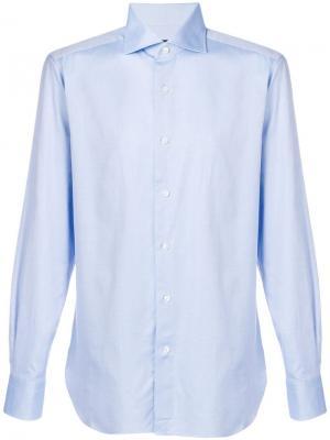 Slim fit shirt Ermenegildo Zegna. Цвет: синий