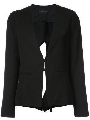 Пиджак с вырезом на спине Yigal Azrouel. Цвет: черный