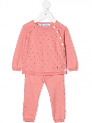 Спортивные брюки Tartine Et Chocolat. Цвет: розовый