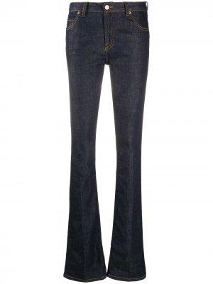Расклешенные джинсы Victoria Beckham. Цвет: синий