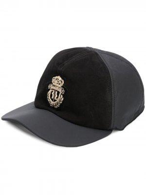 Бейсболка с логотипом Billionaire. Цвет: черный