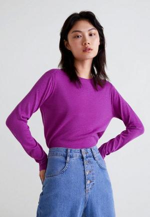 Джемпер Mango. Цвет: фиолетовый