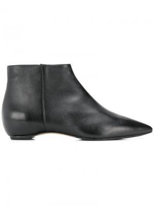 Ankle zip boots The Seller. Цвет: черный