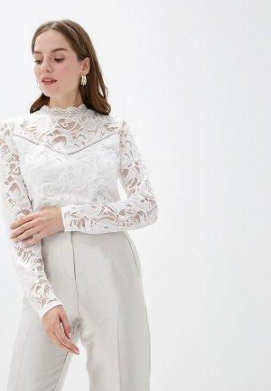 Блуза Vila. Цвет: белый