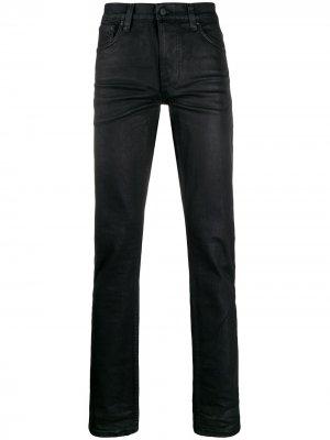 Джинсы Lean Dean прямого кроя Nudie Jeans. Цвет: черный