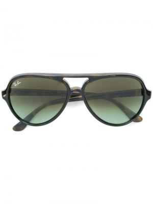 Солнцезащитные очки Cats 5000 Ray-Ban. Цвет  коричневый 270356c1472