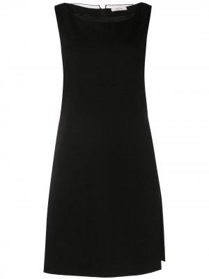 Многослойное сетчатое платье мини Dorothee Schumacher. Цвет: черный