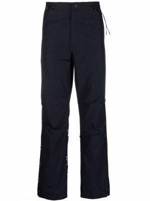 Прямые брюки Pearl Dragon Maharishi. Цвет: синий