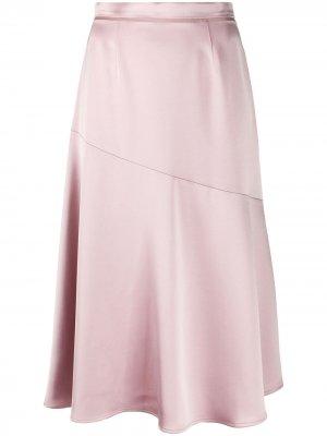 Юбка мини Giada Blanca Vita. Цвет: розовый