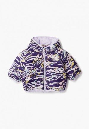 Пуховик adidas Originals. Цвет: фиолетовый