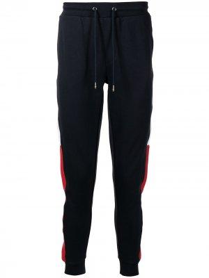 Спортивные брюки с нашивкой-логотипом Tommy Hilfiger. Цвет: синий
