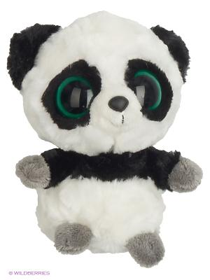Юху и друзья Игрушка мягкая Панда 12см AURORA. Цвет: черный