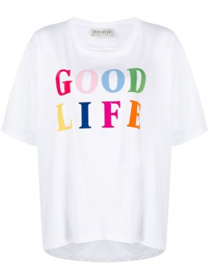 Футболка Good Life Être Cécile. Цвет: белый