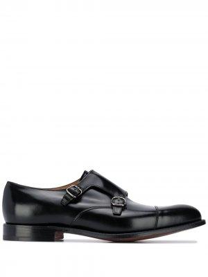 Churchs туфли монки Church's. Цвет: черный