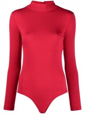 Боди из джерси с высоким воротником Atu Body Couture. Цвет: красный