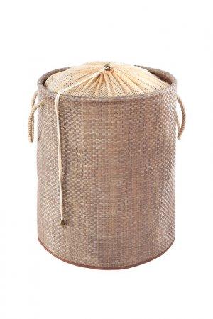 Мягкая корзина для белья CASY HOME. Цвет: коричневый