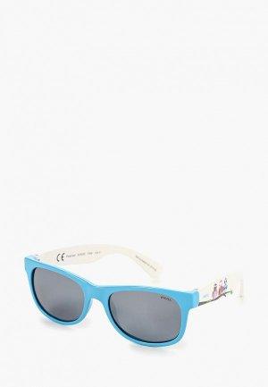 Очки солнцезащитные Invu. Цвет: голубой