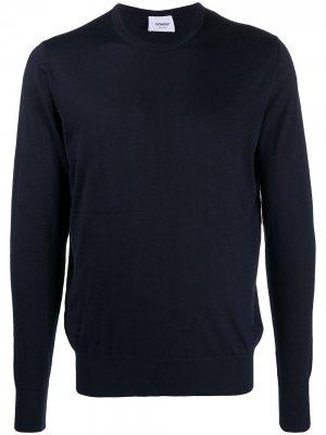 Пуловер с круглым вырезом Dondup. Цвет: синий
